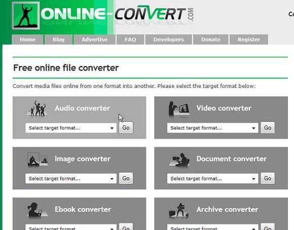 convert various file formats