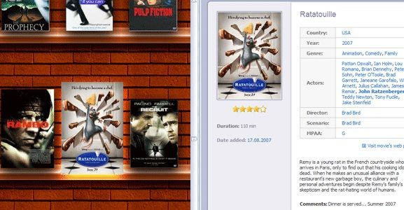 movie cataloguing software
