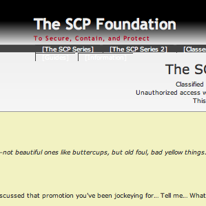 Enter The Twilight Zone With The SCP Foundation