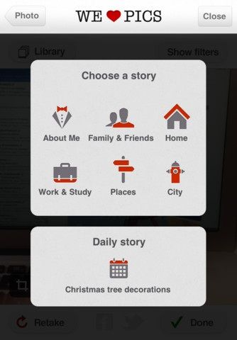 WeHeartPics: Get Most Important Updates About Your Friends With Photographs Story
