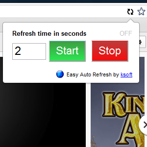 auto300   EasyAutoRefresh: Automatically Refresh Webpages As Often As You Want [Chrome]