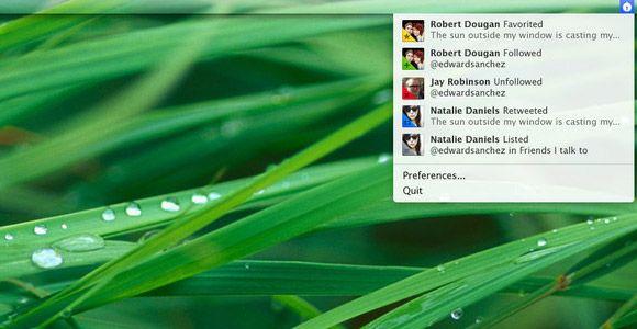 twitter stream mac