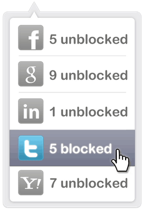 block me   Disconnect Me: Stop Third Party Widgets On Websites From Tracking You Online