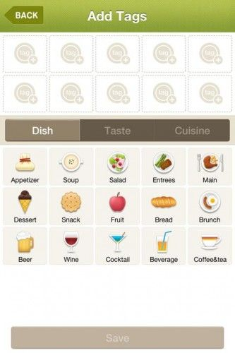 food apps for ipad