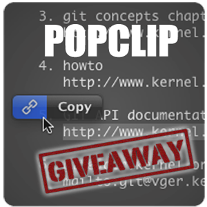 Pop Clip: The Missing Mac Utility [Giveaway]