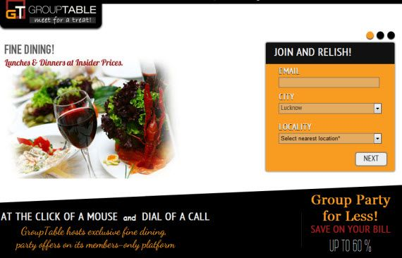 group dining offers