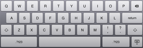 4 Reasons I'm Glad I Own A Netbook And Not A Tablet [Opinion] ipad keyboard