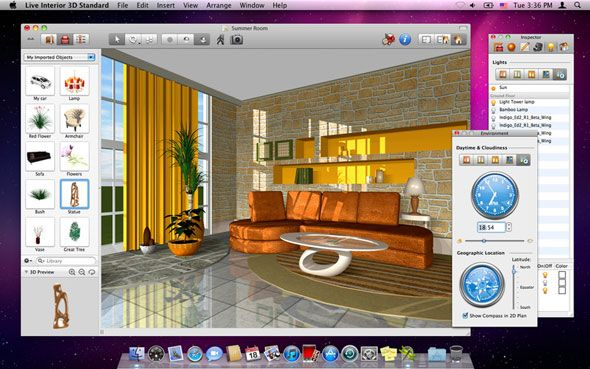4 creative projects to do on your mac osx for Programma progettazione interni 3d