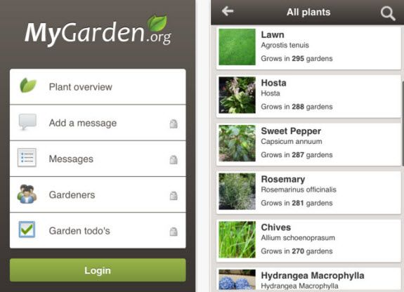 mygardenapp1   MyGardenApp: App For Gardeners & Plant Lovers [iPhone]