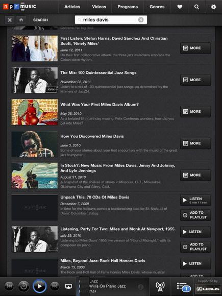 npr music for iphone