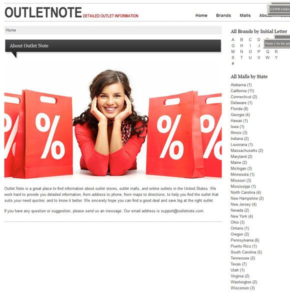 outlet stores in the usa