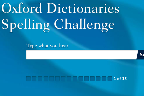 oxford1   Oxford Dictionaries Spelling Challenge: Find How Well You Really Spell