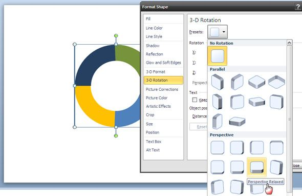 PowerPoint Art: How To Create A 3-D Circle To Show A Cyclical Process ppt 3d circle07