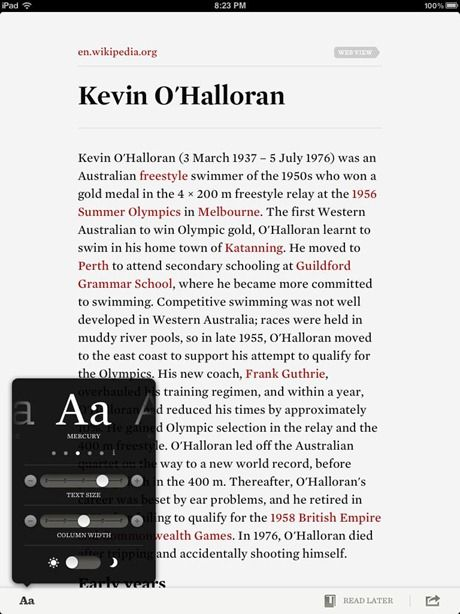 Readability Launches Native iOS App For Clutter-Free Reading On Your iPad, iPhone & iPod Touch [News] readability ios