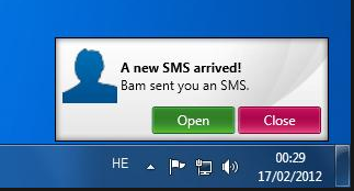 sms from pc