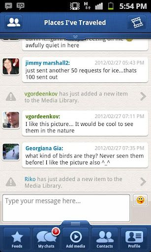 instant messaging android