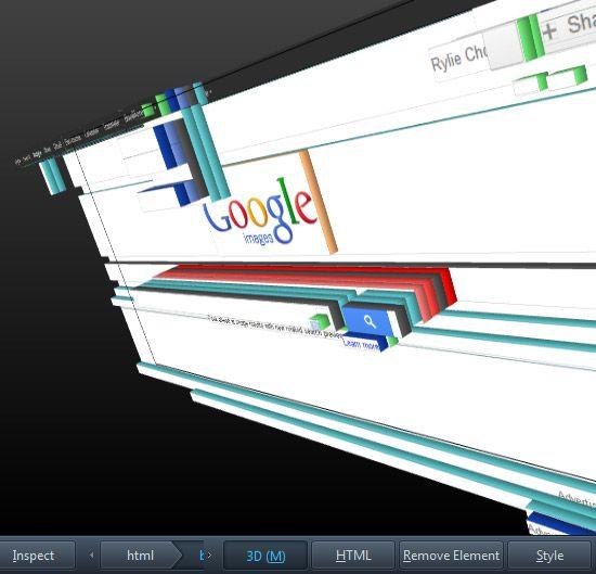 view website in 3d