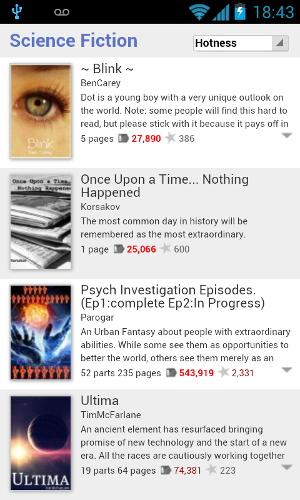 wattpad for android review