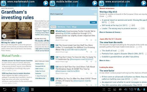 multi-page browsing
