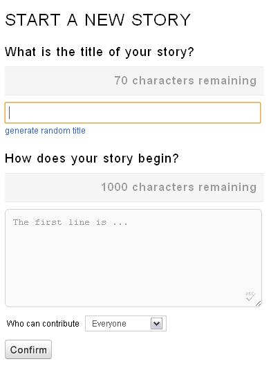 create collaborative stories