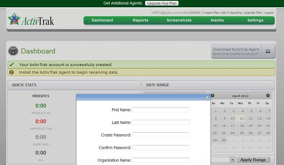 employee activity tracker
