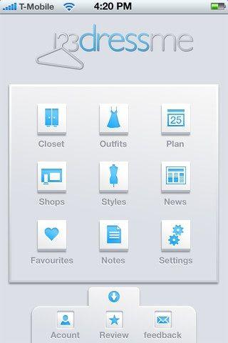 create a virtual closet