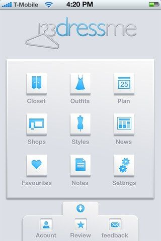 create a virtual closet