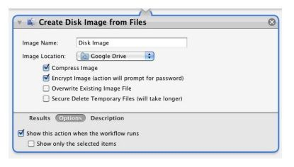 create disk image from files