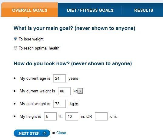 monitoring weight loss