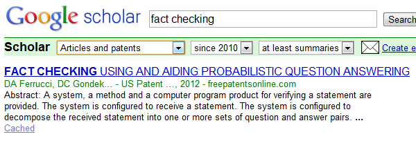 fact checking web sites