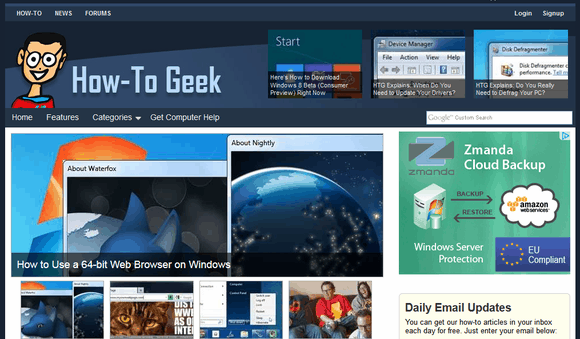 websites for geeks tech