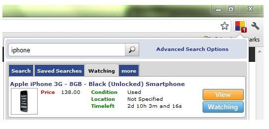 fast ebay search