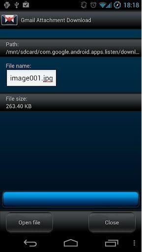 gmail attachment download