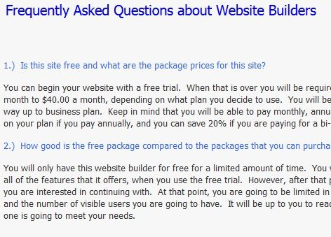 Website Builder: A Place To Find Reviews For Website Creation & Design Tools Questions