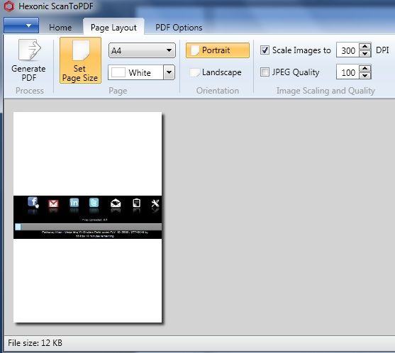 convert images to pdf files