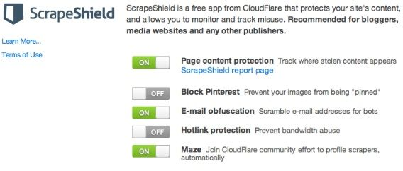 protect website content from thieves