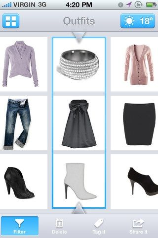 123DressMe: Create A Virtual Closet Of Your Clothes On Your Phone Suits
