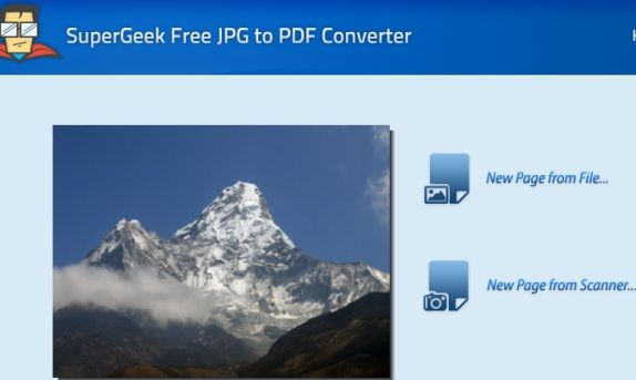 Supergeek   SuperGeek Free JPG to PDF Converter: A Fast Desktop App To Convert Images To PDF Or PS File Formats
