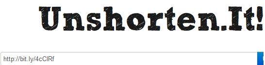 decode a shortened url
