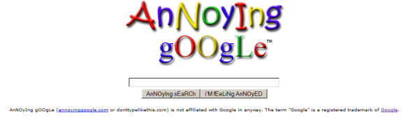 12 Alternate Looks To Your Google Search Homepage annoyinggoogle
