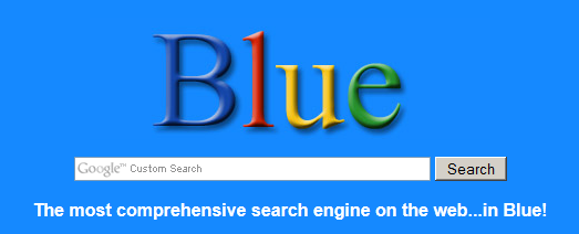 12 Alternate Looks To Your Google Search Homepage bigbluesearch