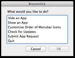 organize menu bar mac