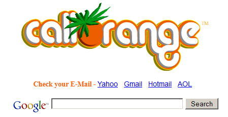 12 Alternate Looks To Your Google Search Homepage caliorange