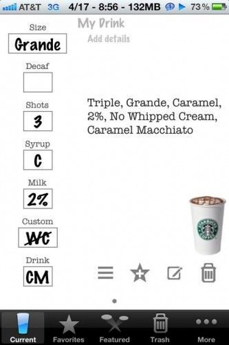 coffee apps iphone