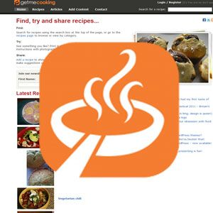 GetMeCooking Recipe Plugin For WordPress Gets Your Recipes the Exposure They Deserve