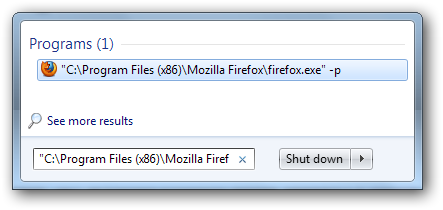 multiple firefox profiles