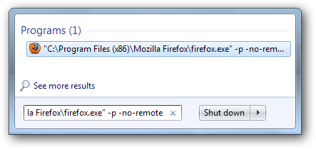 firefox profile tips