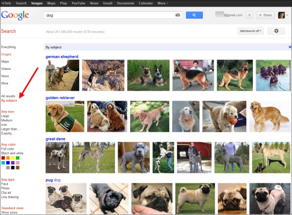 bing vs google image search