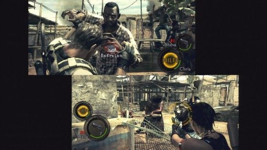 3 Games With Unexpected Great Multiplayer Capabilities [MUO Gaming] re5multi e1334599906237