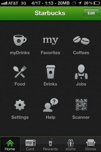 coffee apps for iphone